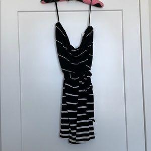 White House Black Market strapless dress, M